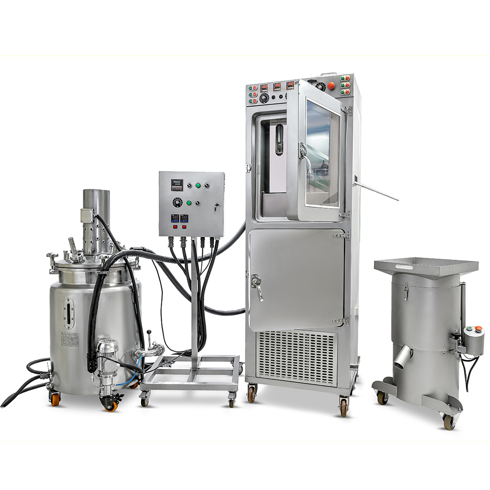 Marijuana oil Encapsulator for the production of Marijuana oil capsules, encapsulating Marijuana oil. Marijuana products from oils, vaping pens, edibles, gummies and more.